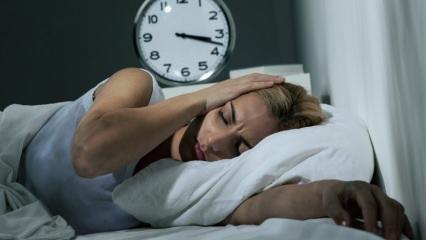 Uyku kaybı salgını nedir? Uykusuzluğun sebepleri neler? Uykusuzluğa iyi gelen besinler...