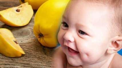 Ayva gamze yapar mı? Hamilelikte ayva yemek bebeği güzelleştirir mi?