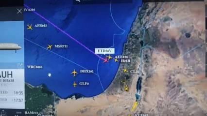 İsrail gururla paylaştı! İhanetin radar görüntüsü