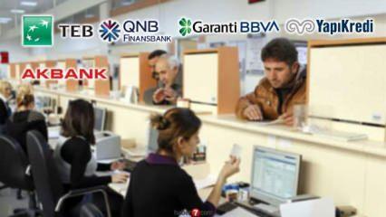Banka personel alım ilanı: Akbank Denizbank Garanti TEB Finansbank Anadolubank