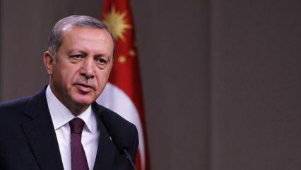 Başkan Erdoğan'dan vefat eden Kilis Belediye Başkanı Bulut için başsağlığı mesajı