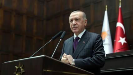 Cumhurbaşkanı Erdoğan'dan 'Işıklar ' açıklaması