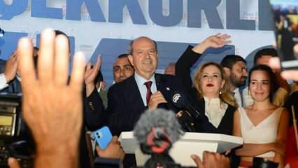 Cumhurbaşkanı seçilen Ersin Tatar'dan 'Anavatan Türkiye' açıklaması