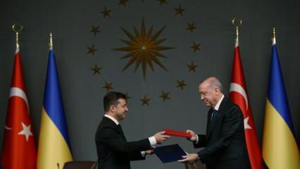 Erdoğan-Zelenskiy görüşmesine ilişkin ortak bildiri yayımlandı