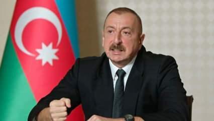 Ermenistan'ın saldırısı sonrası Aliyev'den açıklama