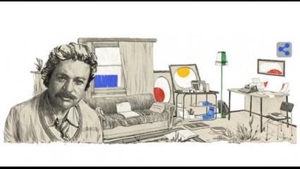 Google'dan Oğuz Atay'a özel Doodle