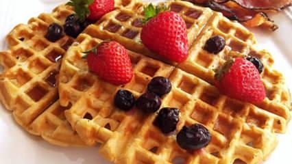 İstanbul'da en güzel waffle nerede yenir? İstanbul'un en iyi waffle yapan mekanları!