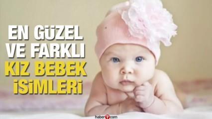 2020 Kız bebek isimleri: En  anlamlı, güzel, farklı, değişik ilginç ve özel kız bebek isimleri!