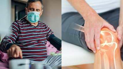 Koranavirüsün artırdığı hastalık: Kireçlenme neden olur? Kireçlenmeye ne iyi gelir?