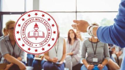 MEB Ekim ayı seminer programı: Online öğretmen semineri giriş ekranı 2020!
