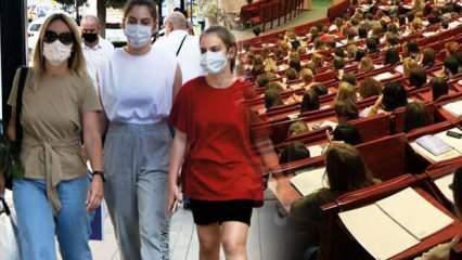 Ankara ve İstanbul'da işler tersine döndü, üniversitelerin yüz yüze eğitimi için tarih verildi