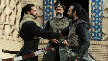 """""""Uyanış: Büyük Selçuklu"""" dizisinin çekimlerinde Ekin Koç'un başına gelen korkutan kılıç kazası!"""