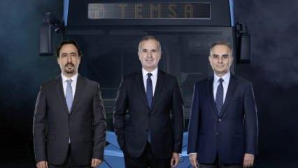 Sabancı ve Skoda Transportation, TEMSA için güçlerini birleştirdi
