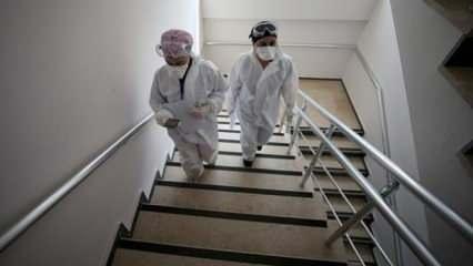31 bin 280 eve koronavirüs ziyareti