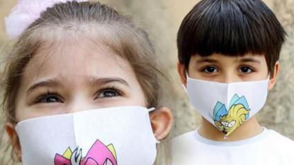 Anaokullarında büyük tehlike! Renkli ve desenli maskeler virüs riskini arttırıyor mu?