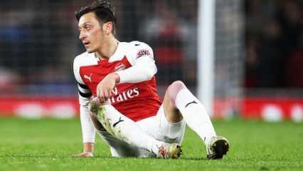 Mesut Özil'den tepki! 'Bu mesajı yazmak zor...'