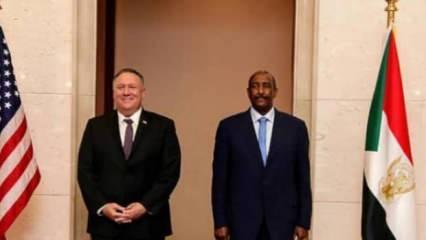 ABD Dışişleri Bakanı Pompeo ve Sudan Başbakanı Hamduk görüştü