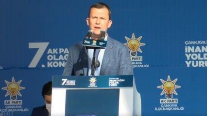 AK Parti'li Şahin: Avrupa halkları bu aymaz siyasetçilere gerekli dersi vermeli