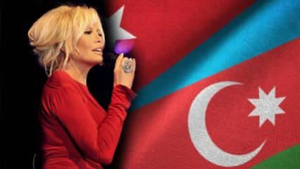 Ajda Pekkan'dan Azerbaycan'a helal olsun dedirten yardım!