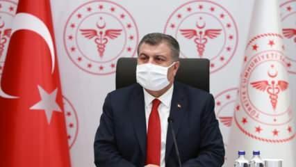 Bakan Koca: Salgın Anadolu'da ikinci zirve döneminde