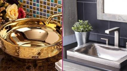 Banyolar için en şık lavabo modelleri 2020