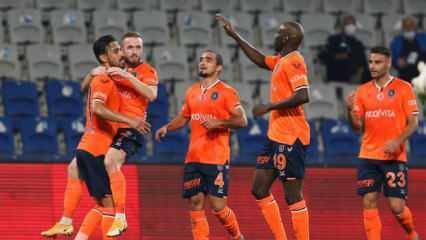 Başakşehir gol oldu yağdı!