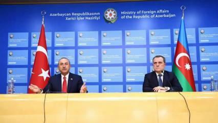 Çavuşoğlu'ndan kritik Karabağ  görüşmesi