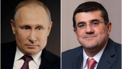 Dağlık Karabağ'ın sözde lideri Putin'e mektup yazdı: Azerbaycan'ı durdur
