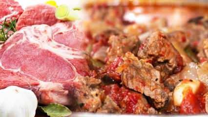 En kolay dana etiyle yapılan yemek tarifleri! Dana eti nasıl pişirilir?