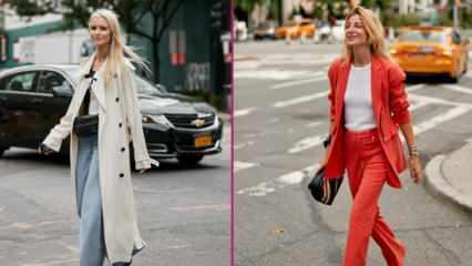 En şık İspanyol paça pantolon model ve kombinleri