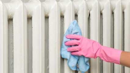 Petek temizliği nasıl yapılır? Kombi havası nasıl alınır? Evde petek temizliği püf noktaları
