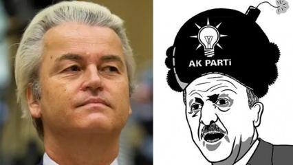 Geert Wilders'dan skandal Erdoğan paylaşımı
