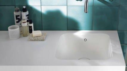 Mermer lavabo nasıl temizlenir? Lavabodaki lekeleri bembeyaz yapma yöntemler...