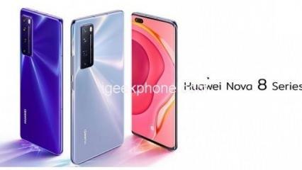 Huawei Nova 8 tanıtım tarihi sızdırıldı