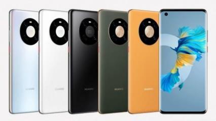 Huawei'nin gizemli modeli Mate 30E 5G tanıtıldı