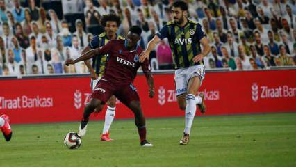 Fenerbahçe - Trabzonspor! Muhtemel 11'ler