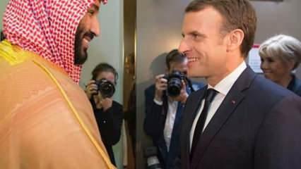 İslam düşmanı Fransa'ya Suudi desteği