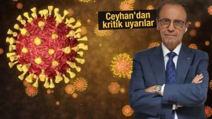 Koronavirüste vakalar artıyor: Mehmet Ceyhan'dan son dakika açıklamalar
