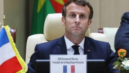 Macron konuşurken bu kadarını hesap edemedi! Bedeli ağır olacak