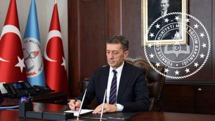 Milli Eğitim Bakanı Ziya Selçuk'tan kritik imza: 81 ile gönderildi Ekim ayı itibariyle açıldı!
