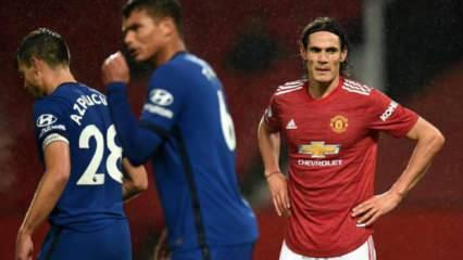 M.United, Chelsea maçında gol yok!