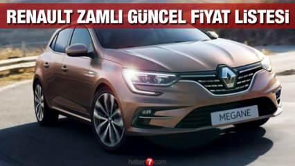 Renault sıfır araç modelleri fiyat listesi: Yeni Clio Megane Talisman Kadjar zamlı fiyatı