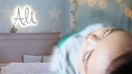 Yeni doğan bebeğe ışık zararlı mı? Bebek odası aydınlatması için fikirler