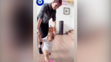 Yıldız Çağrı Atiksoy, Hazal Kaya'nın oğlu Fikret ile eğlenceli anlarını paylaştı!
