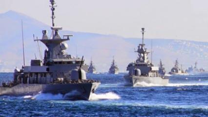 Yunan donanmasını alarma geçti! Askeri seçenek masada