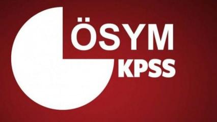 2020-KPSS Ön Lisans Sınavı Temel Soru Kitapçığı ve Cevap Anahtarı Yayımlandı