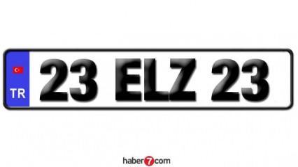 23 Plaka kodu hangi ilin? 23 Plaka nerenin hangi şehir plakası? Elazığ ilçeleri plaka harfleri