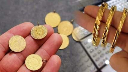 Altın fiyatları bir miktar geriledi! 30 Ekim Gram Altın Çeyrek Altın alış satış fiyatları