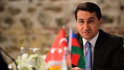 Azerbaycan Cumhurbaşkanı Müşaviri Hacıyev'den Charlie Hebdo'ya tepki: