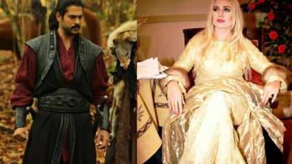 Banu Alkan Kuruluş Osman'ın yıldızı Burak Özçivit'e övgüler yağdırdı!